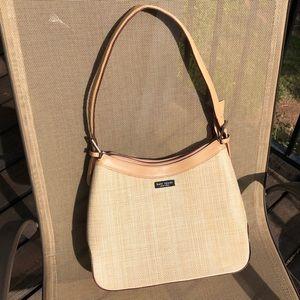 Kate Spade straw purse